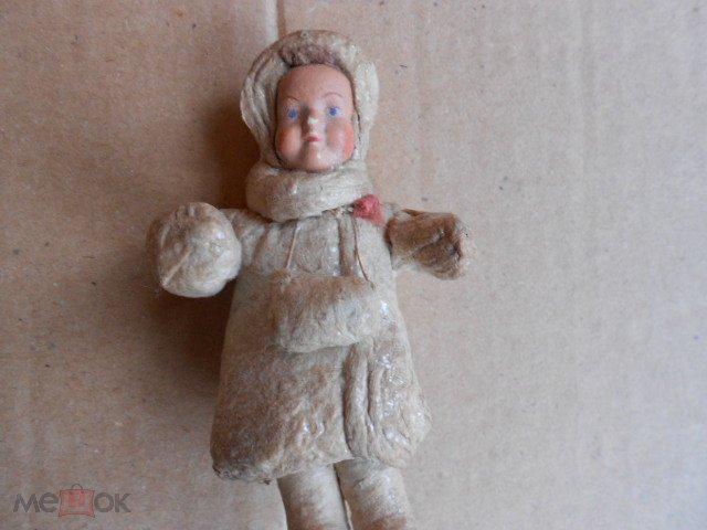 """Старая ёлочная игрушка """"Папье-маше"""".(Редкая.1937г.) Оригинал."""