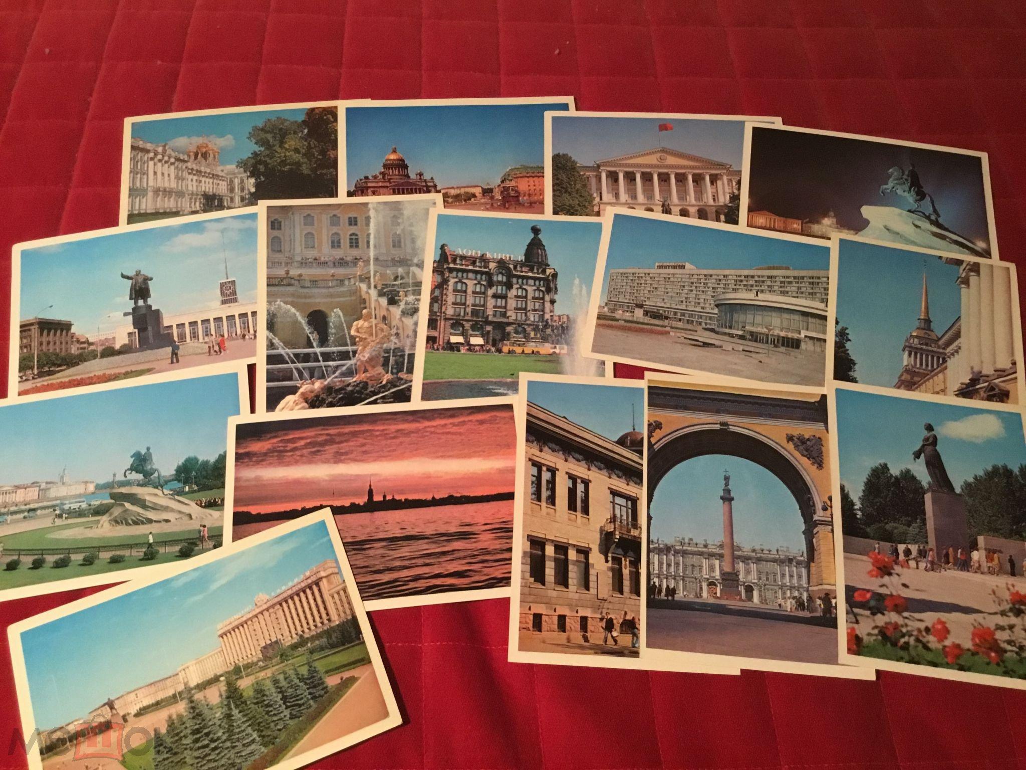 Наборы открыток почтой