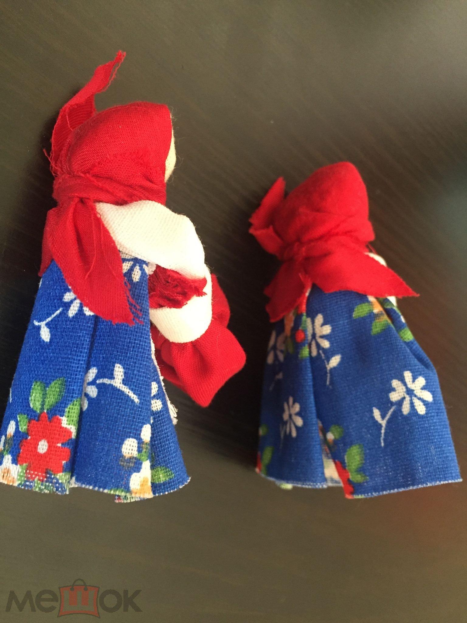 Кукла безликая народная русская тряпичная ПОДОРОЖНИЦА
