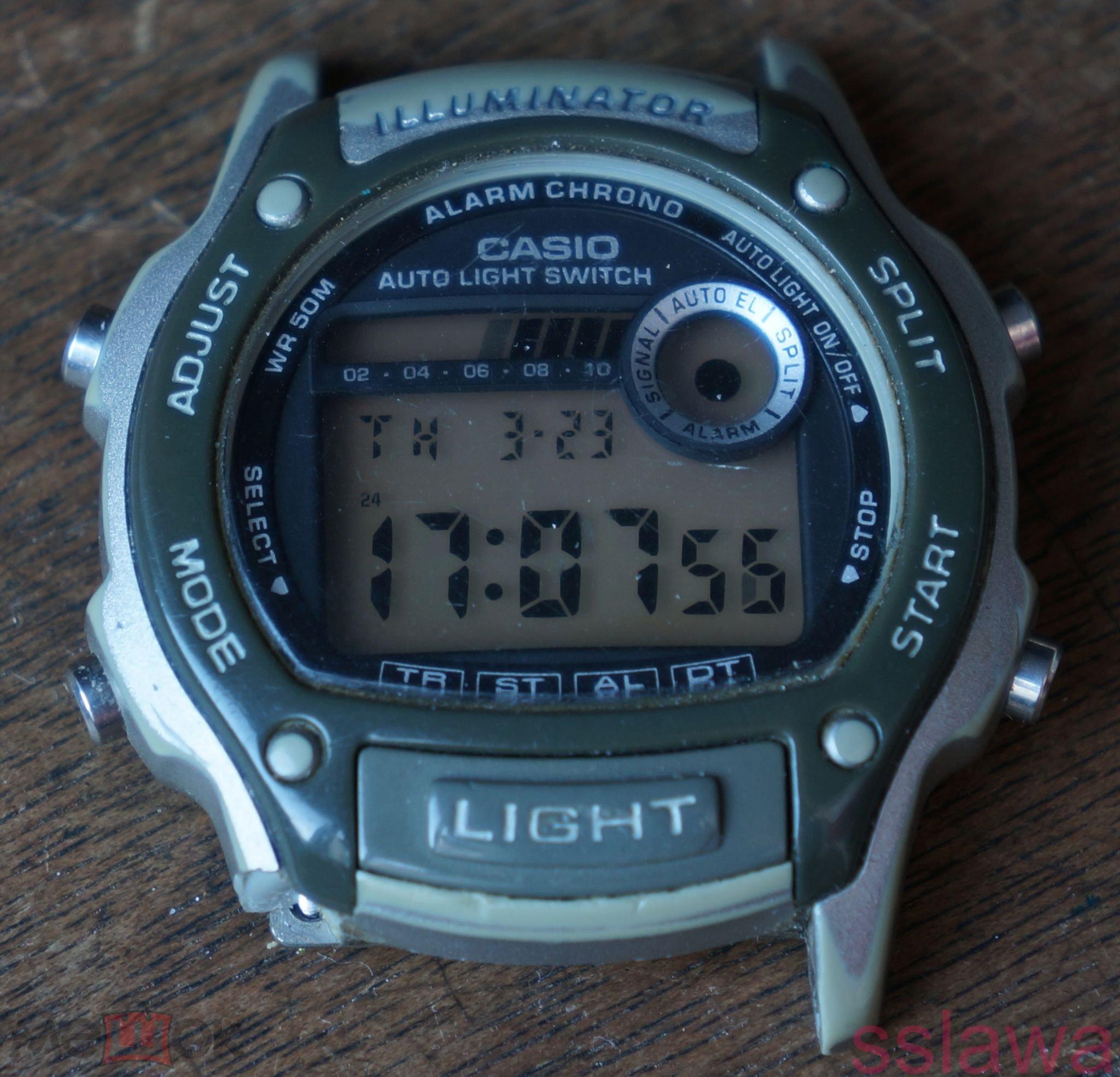 073e9d3c Часы спортивные Casio W-94H (РАБОЧИЙ МЕХАНИЗМ) (торги завершены ...