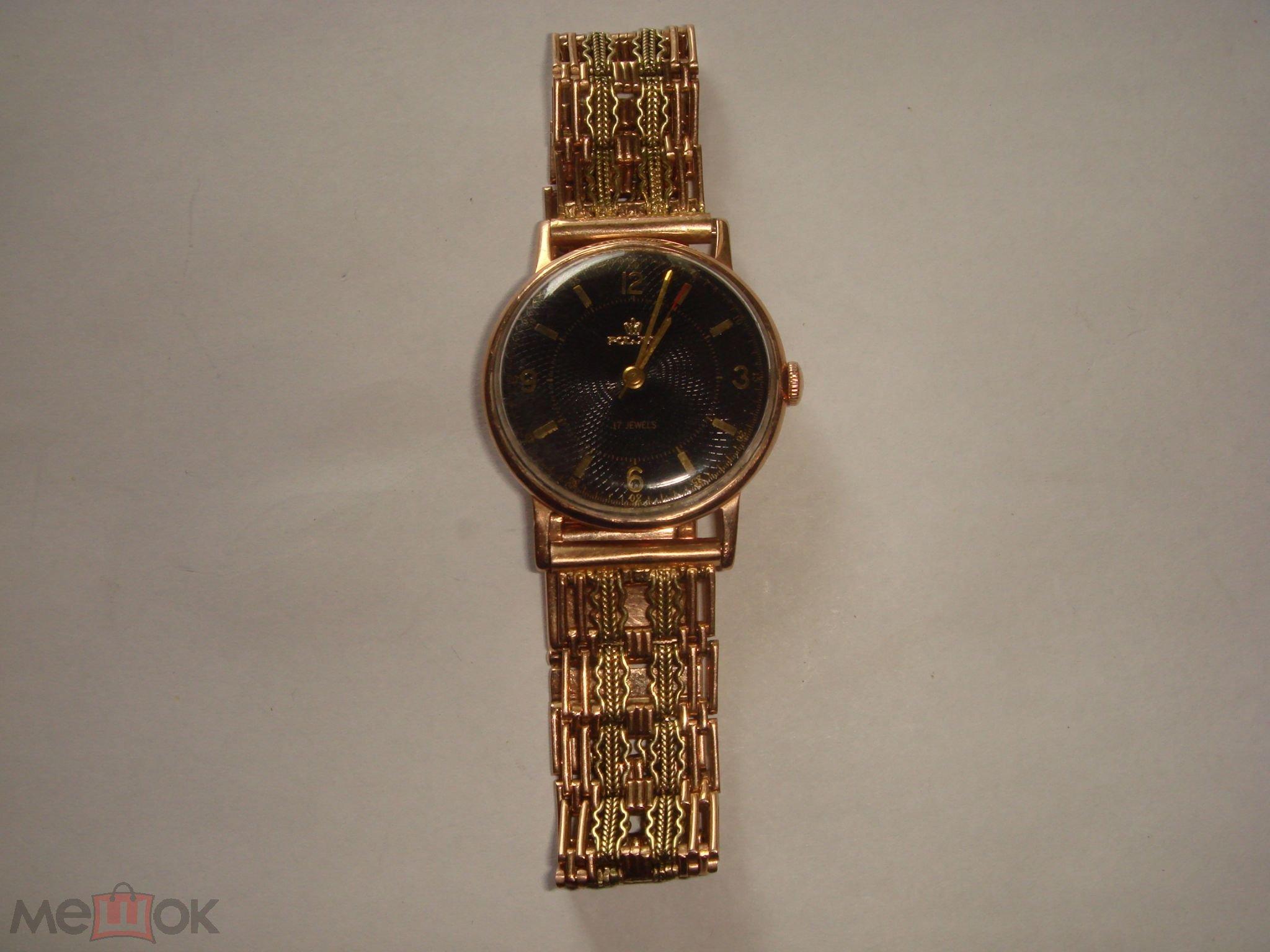 Женские золотые часы с браслетом из золота