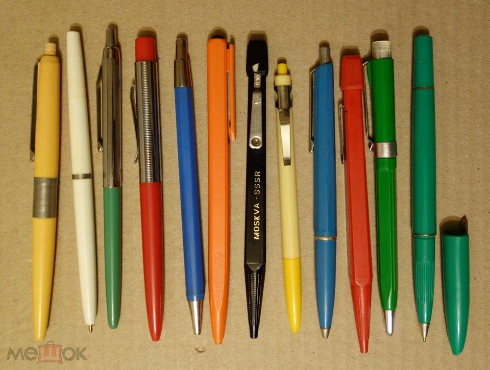 Ручка шариковая СССР. Автоматические шариковые ручки (торги ... 36a2579733f
