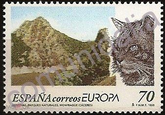 Испания 1999 г. Европа Септ  MNH**