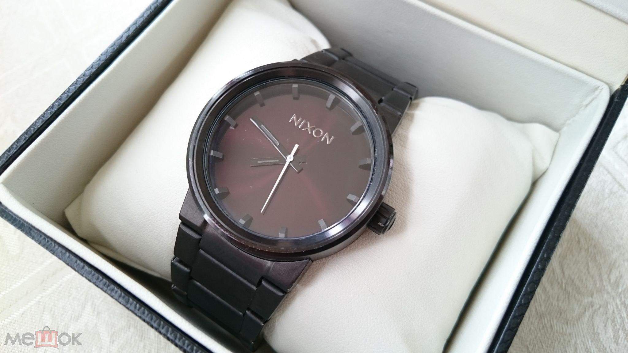 6ec38cca Аукцион с 1 рубля Мужские наручные часы Nixon Редкие (торги ...
