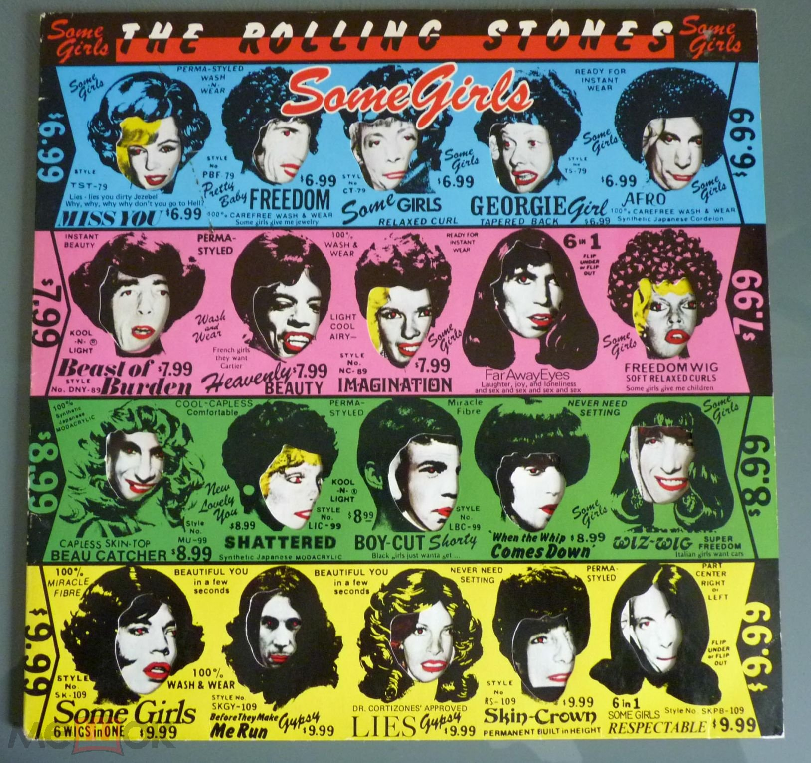 Rolling stones-some girls photos 37