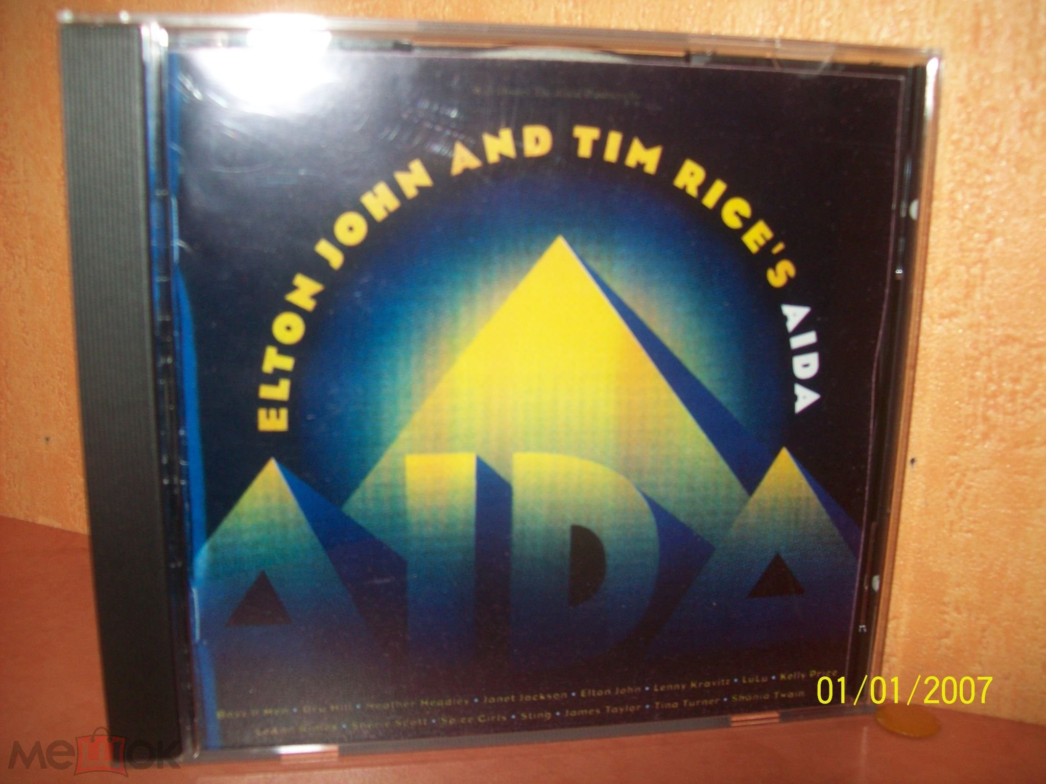 Elton John And Tim Rice - Aida (Rocket - 524 651-2) Unofficial Release Russia 1999