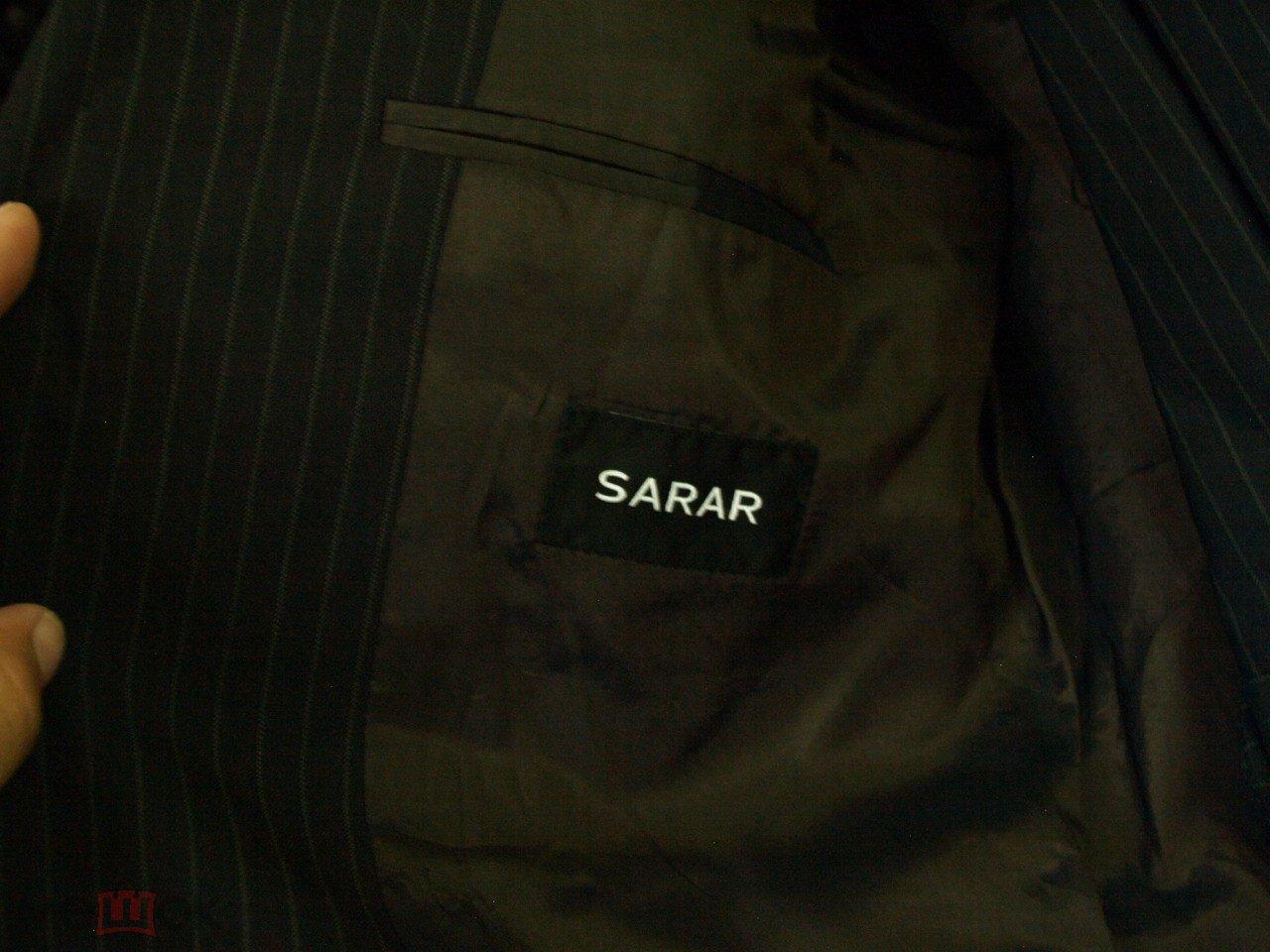 Костюм мужской SARAR  размер 50 Пиджак+брюки б/у.