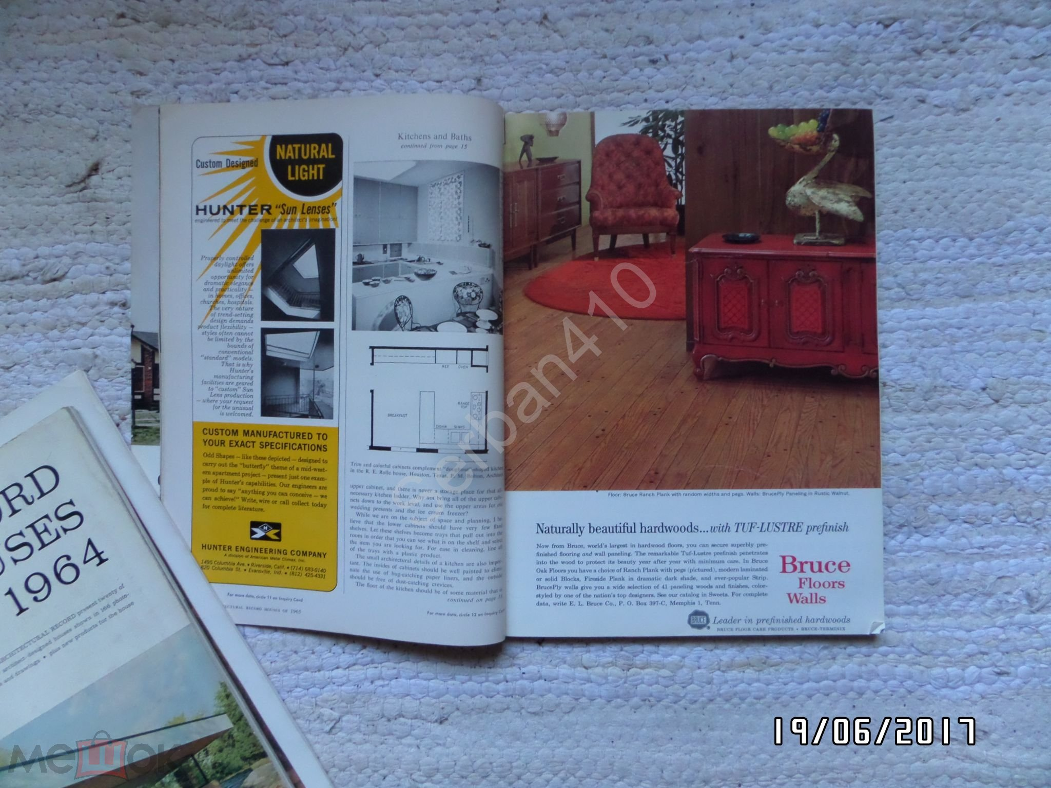 Журнал RECORD HOUSES OF 1965 / англ.яз.США
