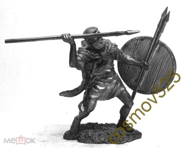 1/32 PTS205. Легионер-велит, III-II cBC, Пунические войны