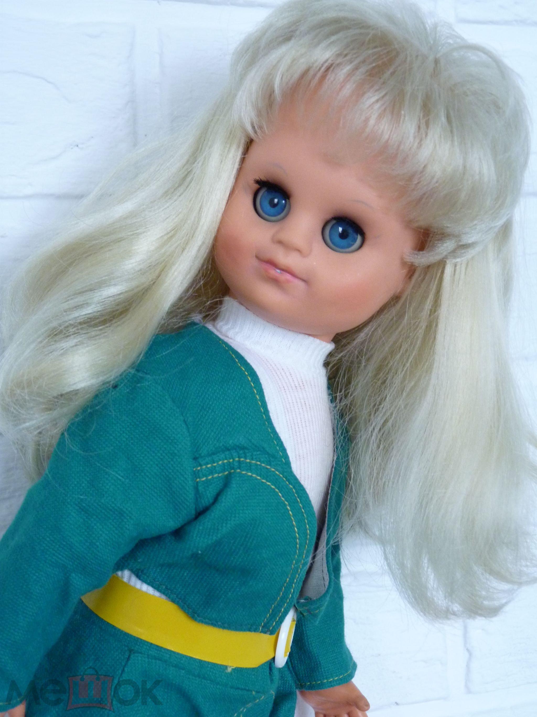 Кукла ГДР. Очень Красивая Девочка в Родной Одежде! Выразительная Милашка!!!