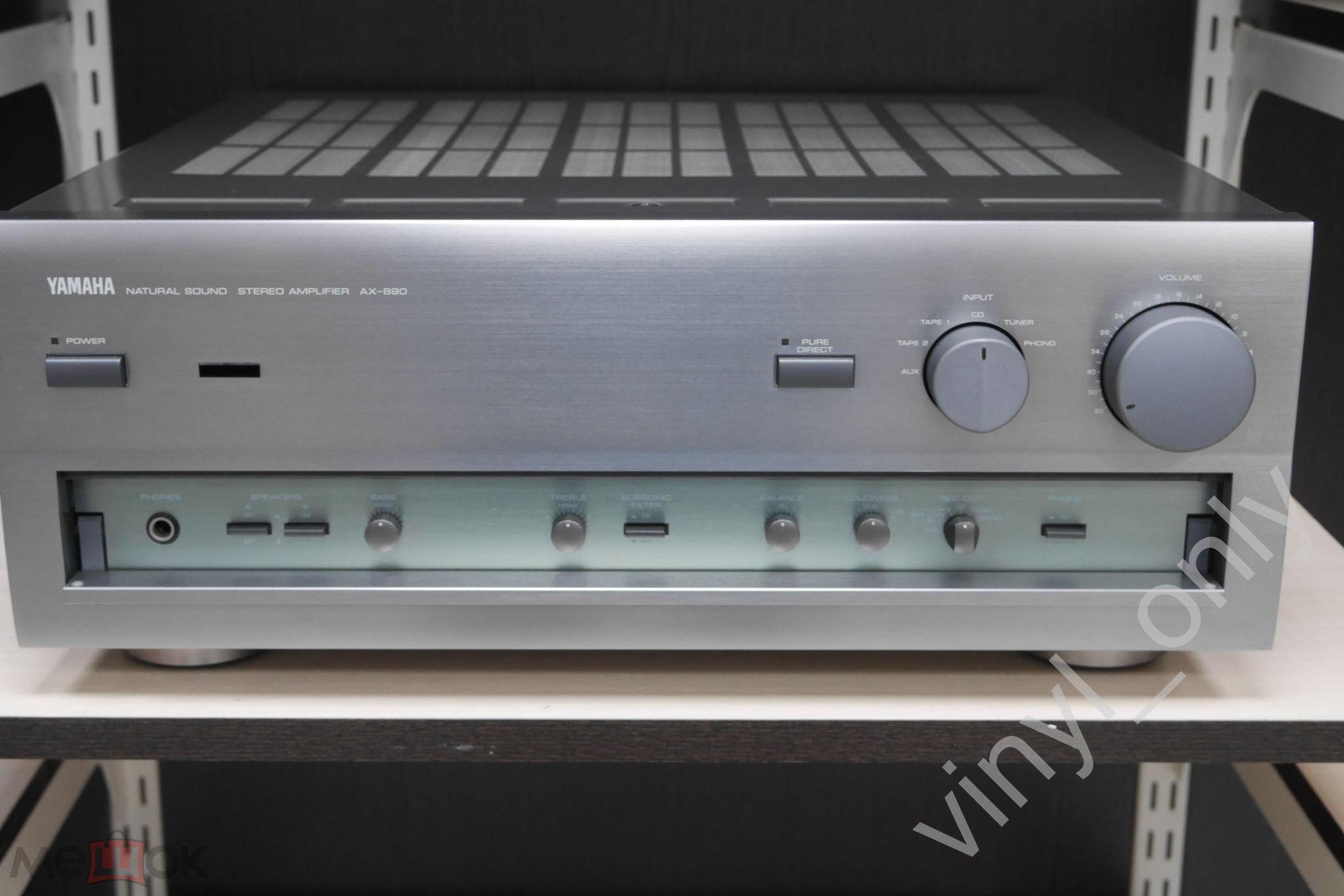 Усилитель  Yamaha AX-890  (1995)
