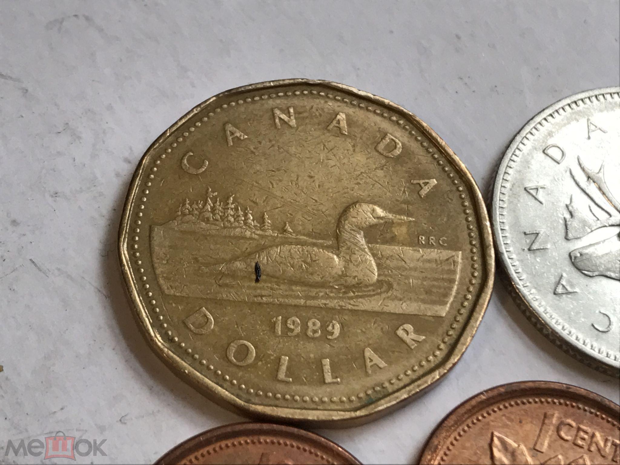 1 доллар канада 1989 цена продам монеты царской россии стоимость каталог цены