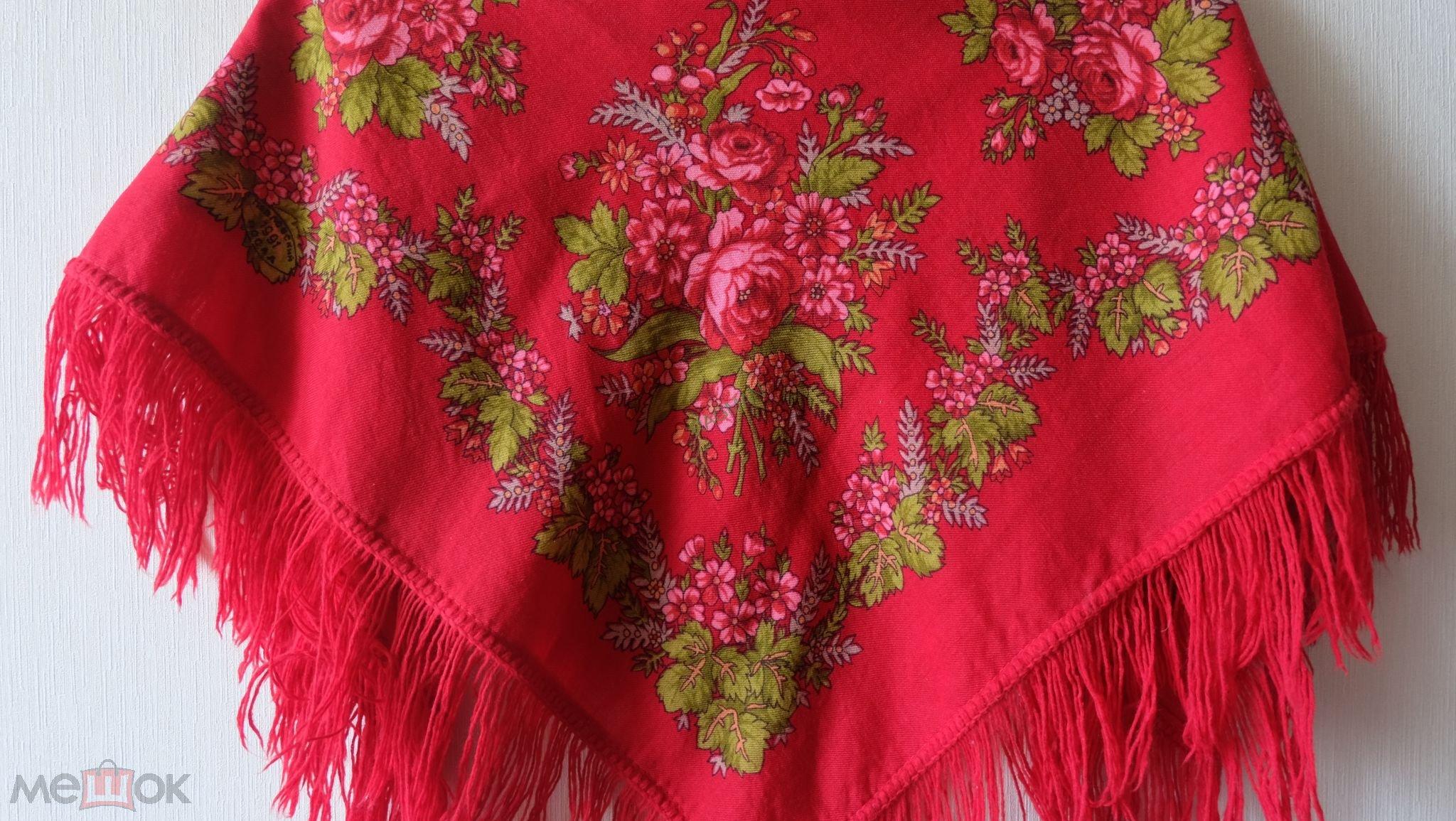 Картинки по запросу красный набивной платок