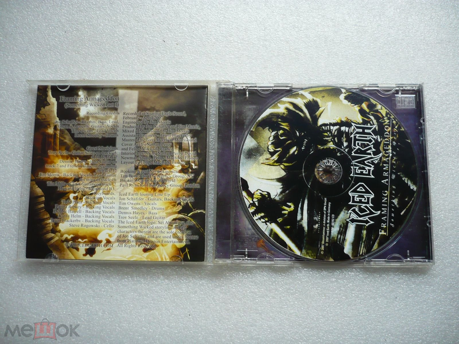 Iced Earth – Framing Armageddon: Something Wicked Part 1 / Буклет