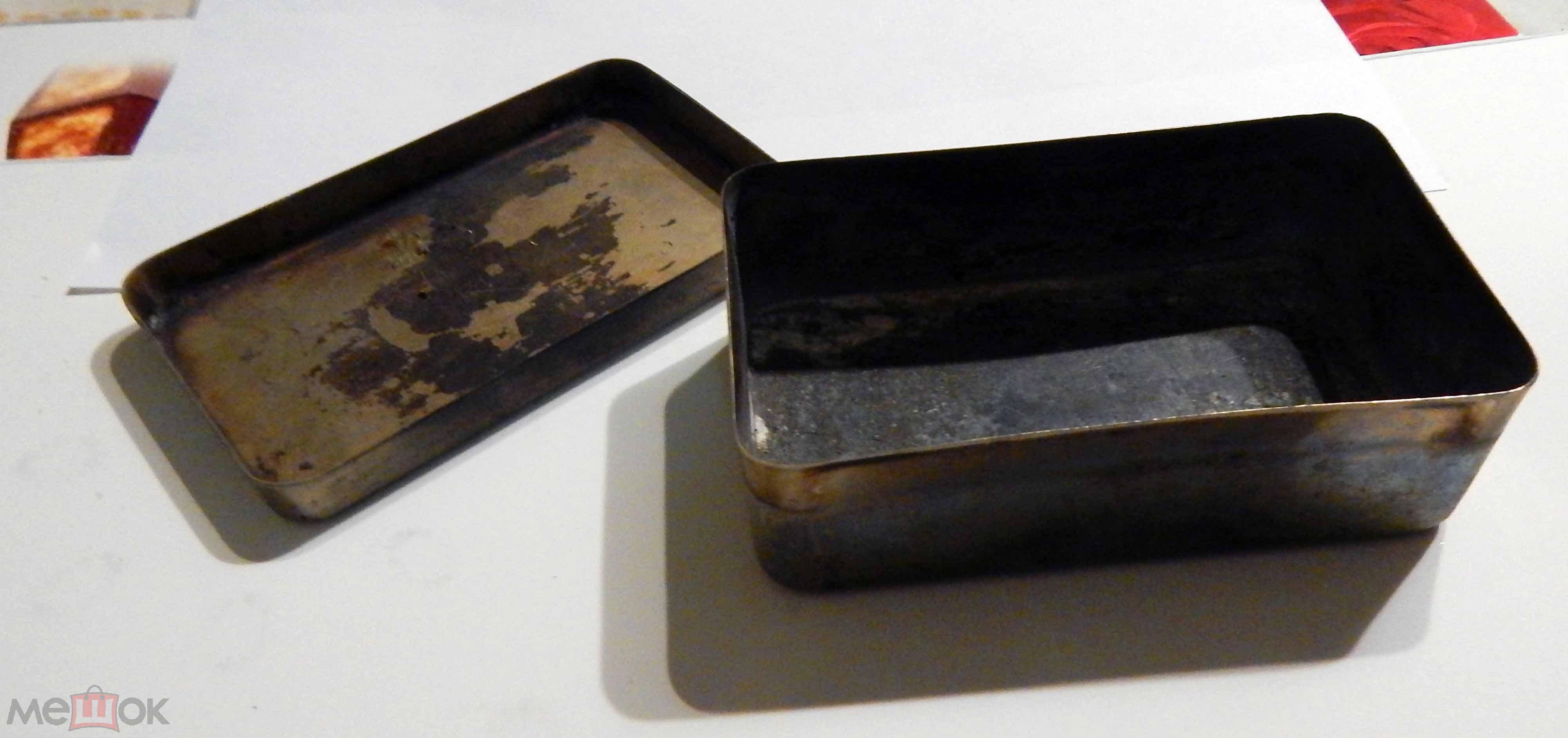 Стерилизатор медицинский для шприцов. СССР (12*7*4 см)