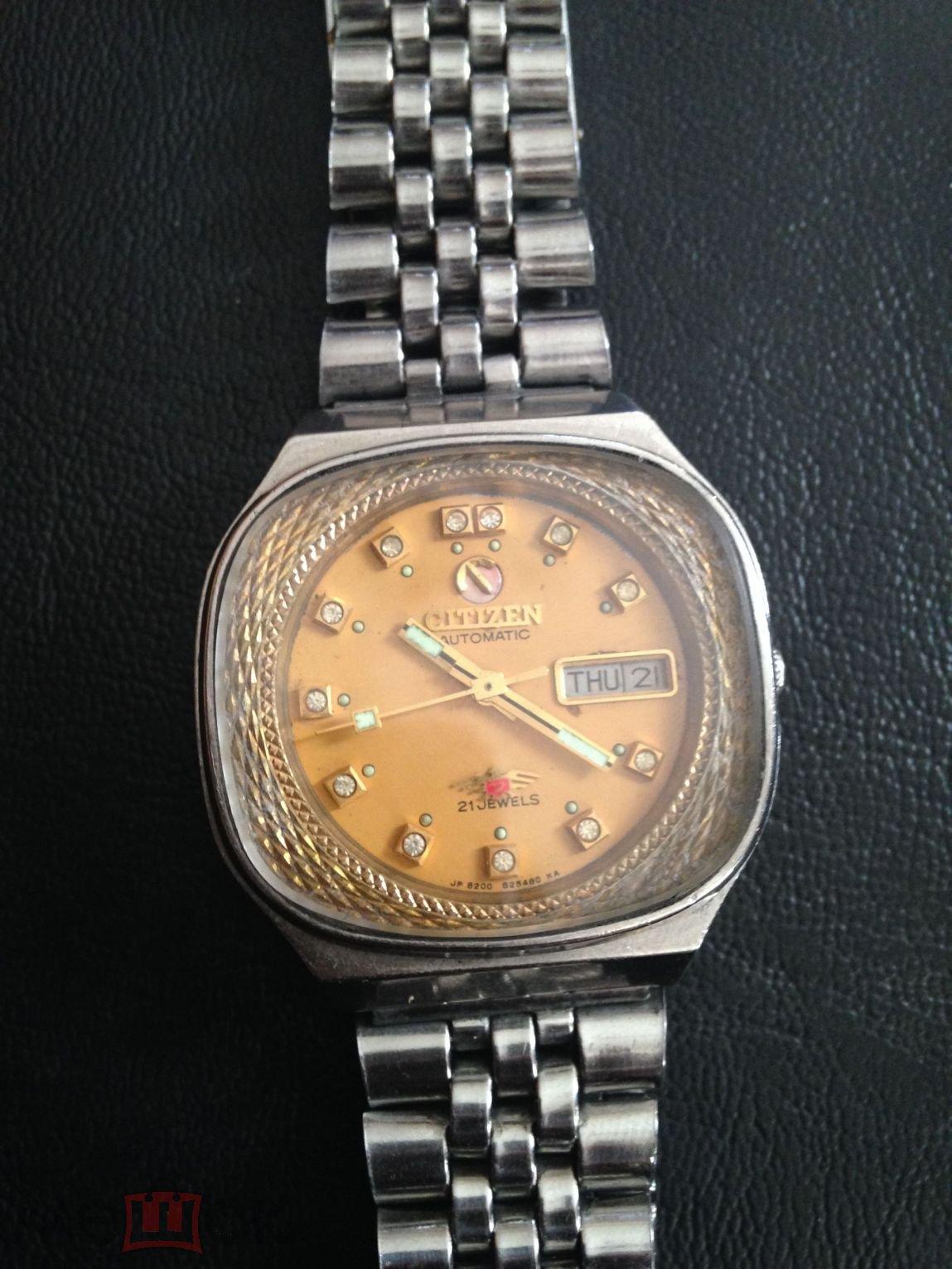 d3c7459b77e1 Винтажные часы Citizen Оригинал, Япония, сапфировое стекло + ремень ...