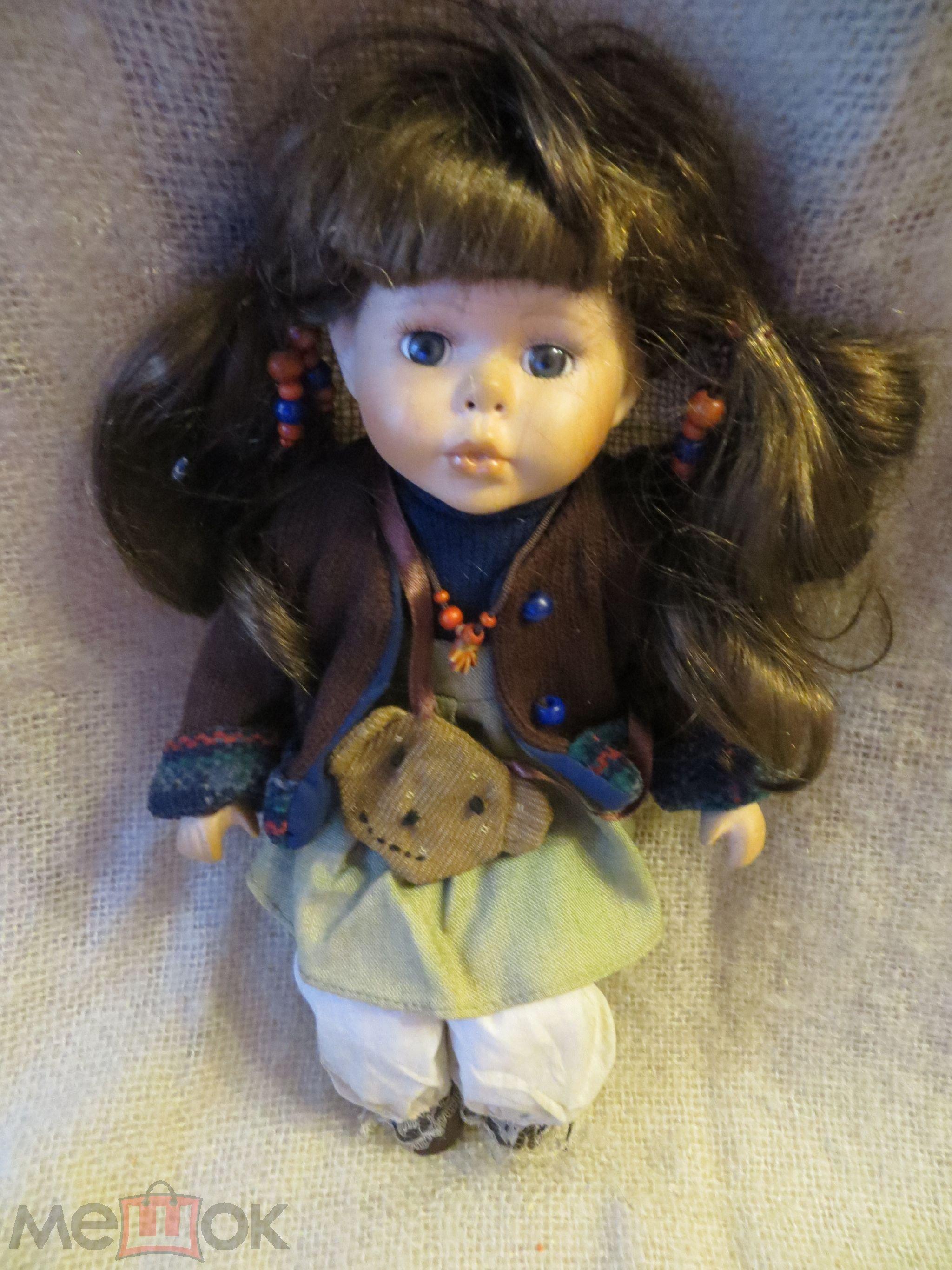 Кукла девочка.Фарфор 25см.Германия