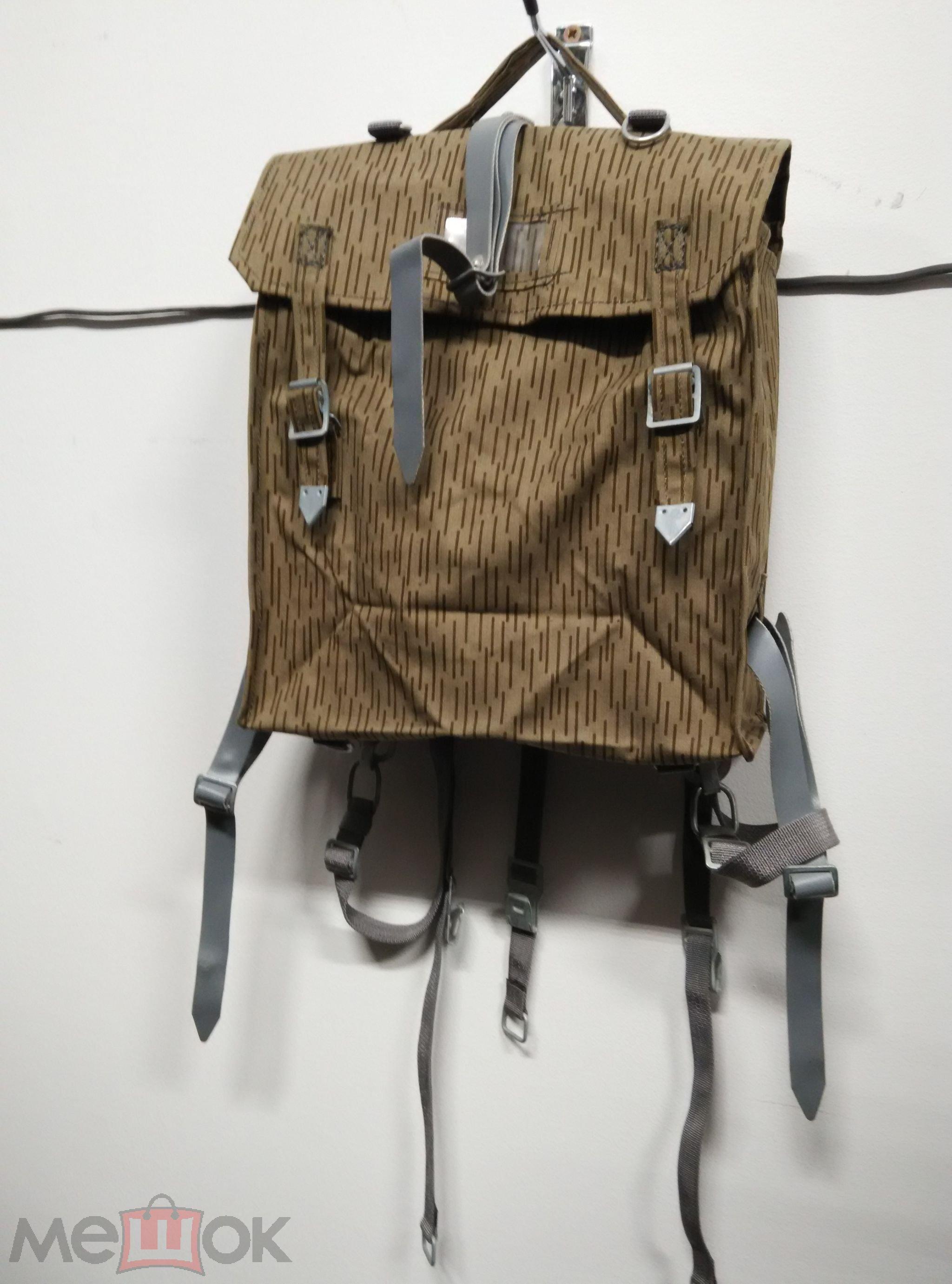 Военный рюкзак гдр рюкзак туризм охота москва