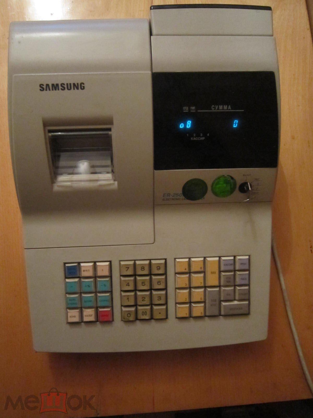 кассовый аппарат Samsung 250rf