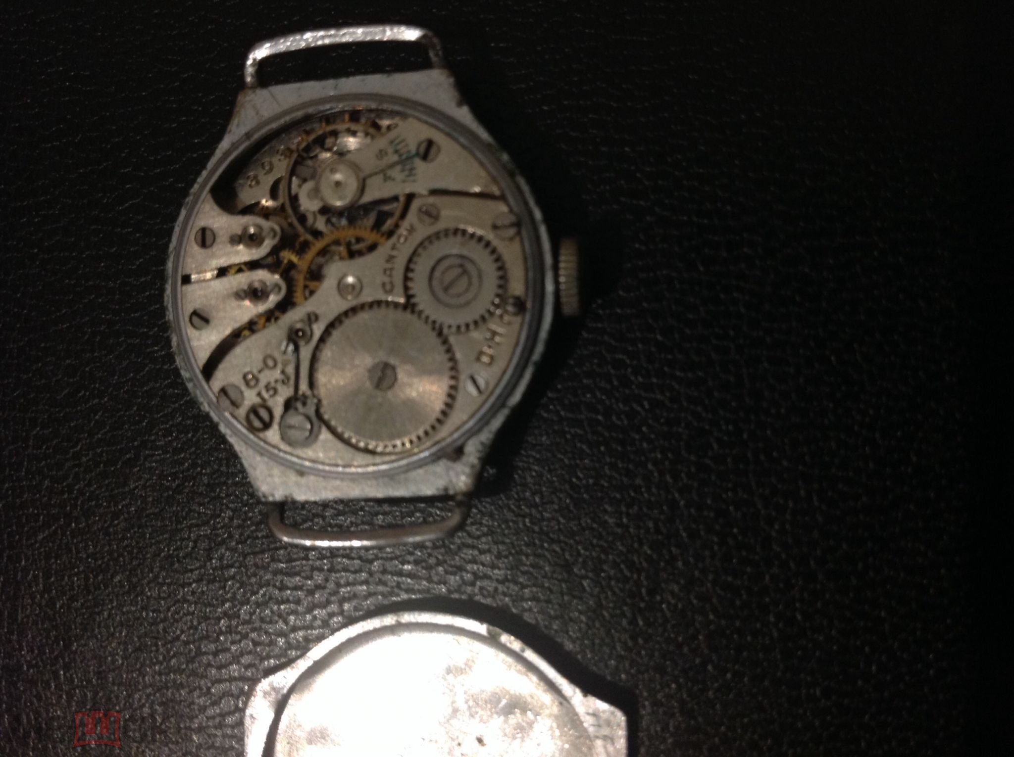 Часы механические  KANTON  D-H. 3937  1Госчасзавод  Москва СССР  мех Швейцария. Коллекция