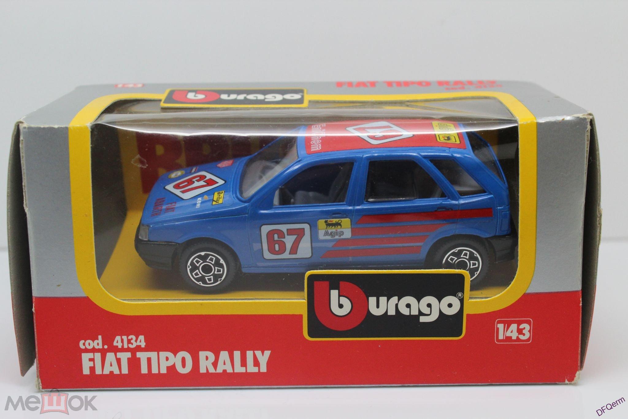 Rasprodazha Model 1 43 Igrushka Fiat Tipo Rally V Ideale Burago