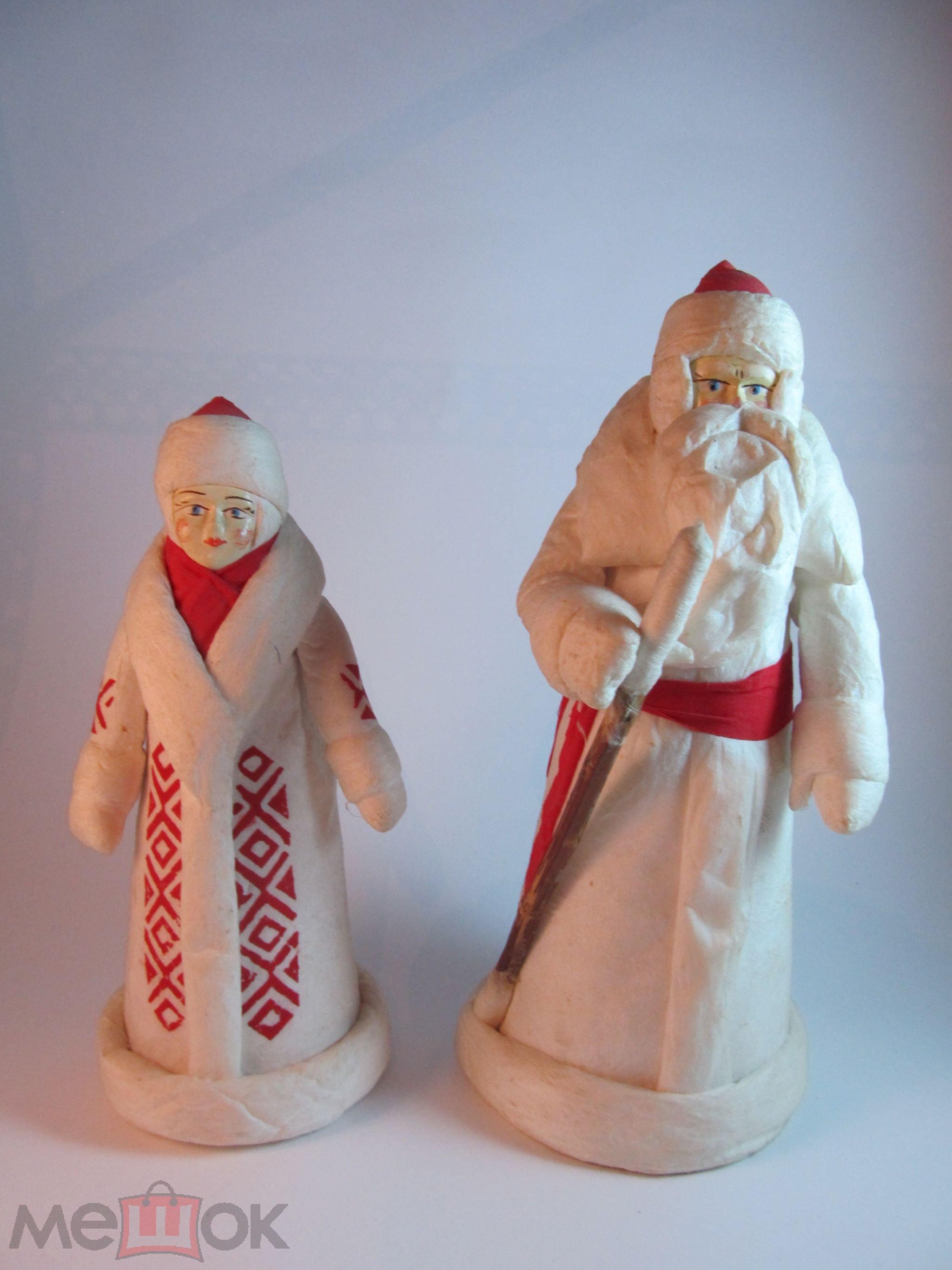 Ватные дед мороз своими руками