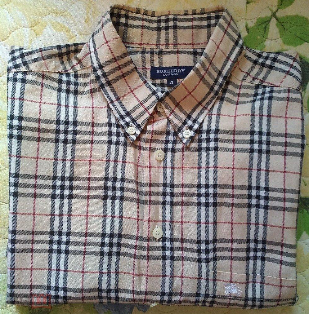 83f1228e7a9c BURBERRY рубашка мужская оригинал London (торги завершены  77002453)
