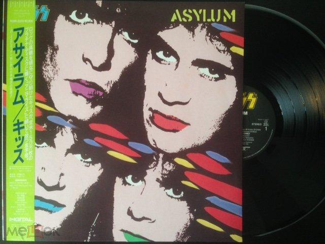 Kiss  – Asylum (Japan) LP, OBI, MINT