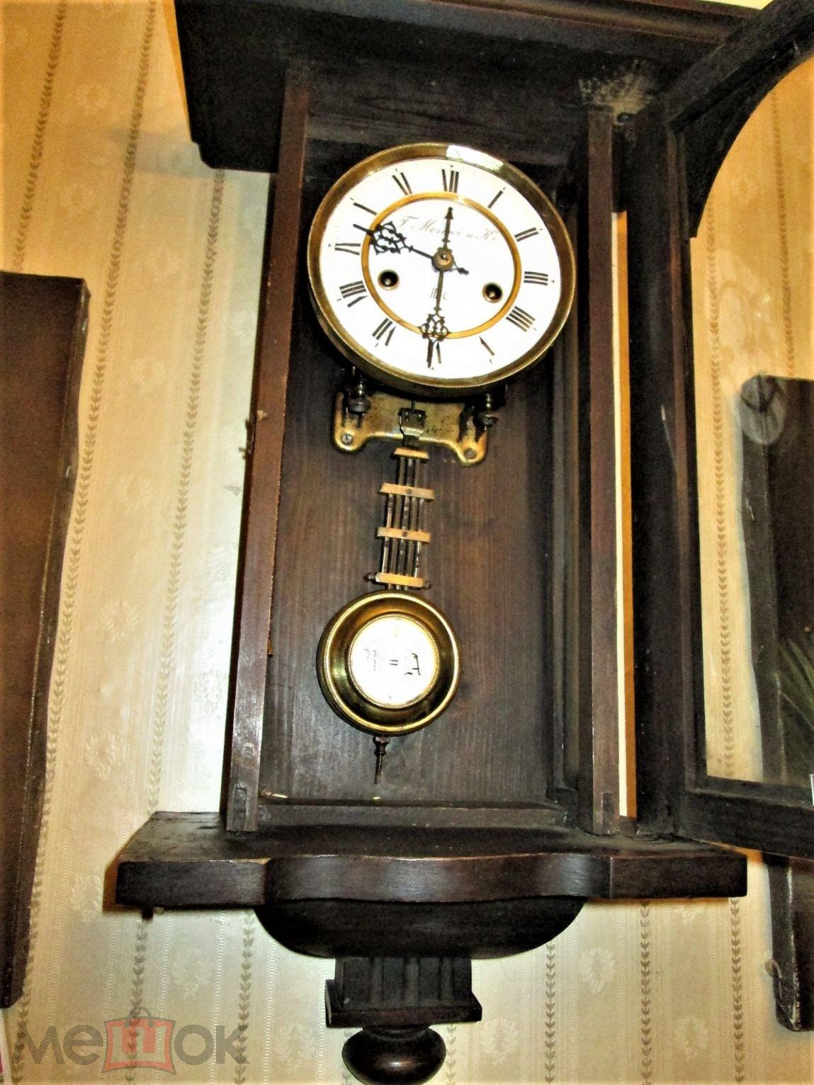 Старинные настольные часы мозер