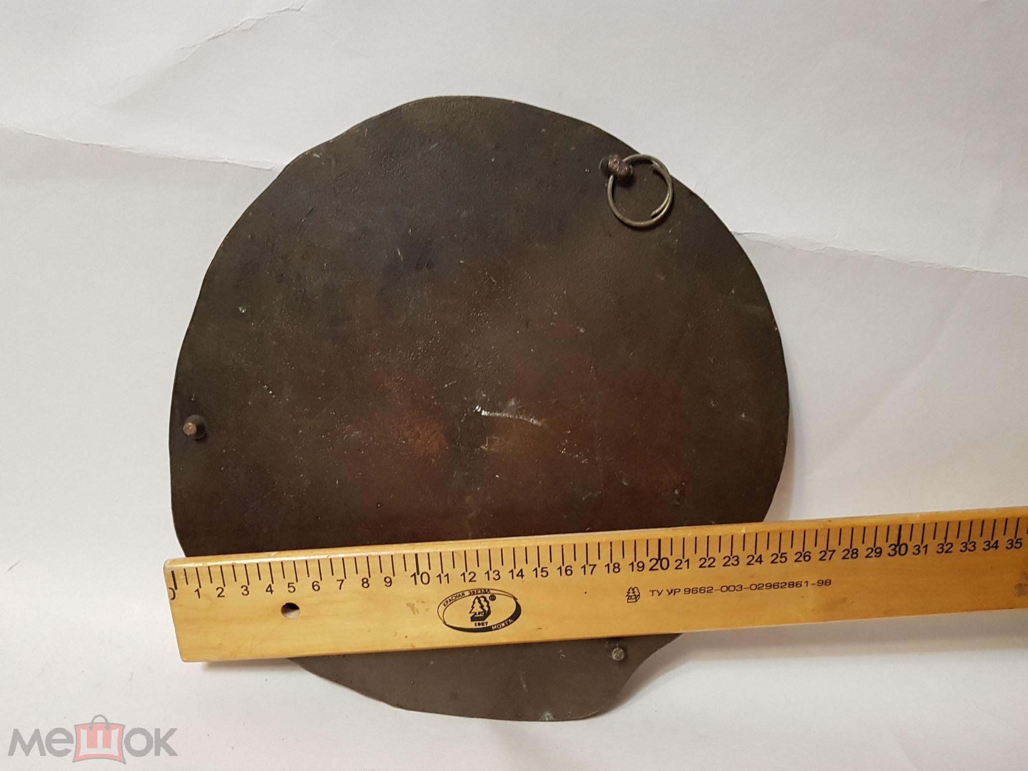 Поле куликово 1380 панно металл