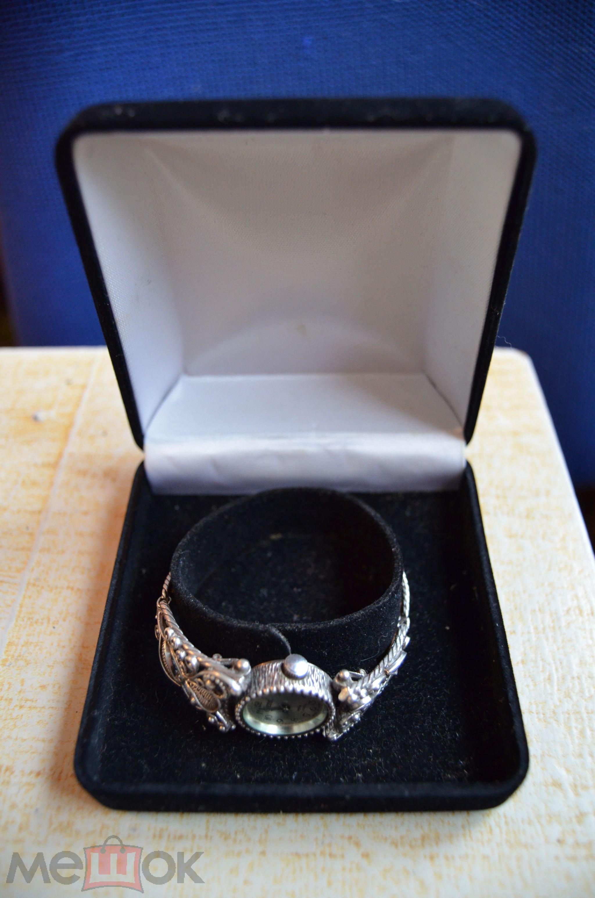 88fe3baf серебряный браслет женские наручные часы elena серебро 925 проба ...