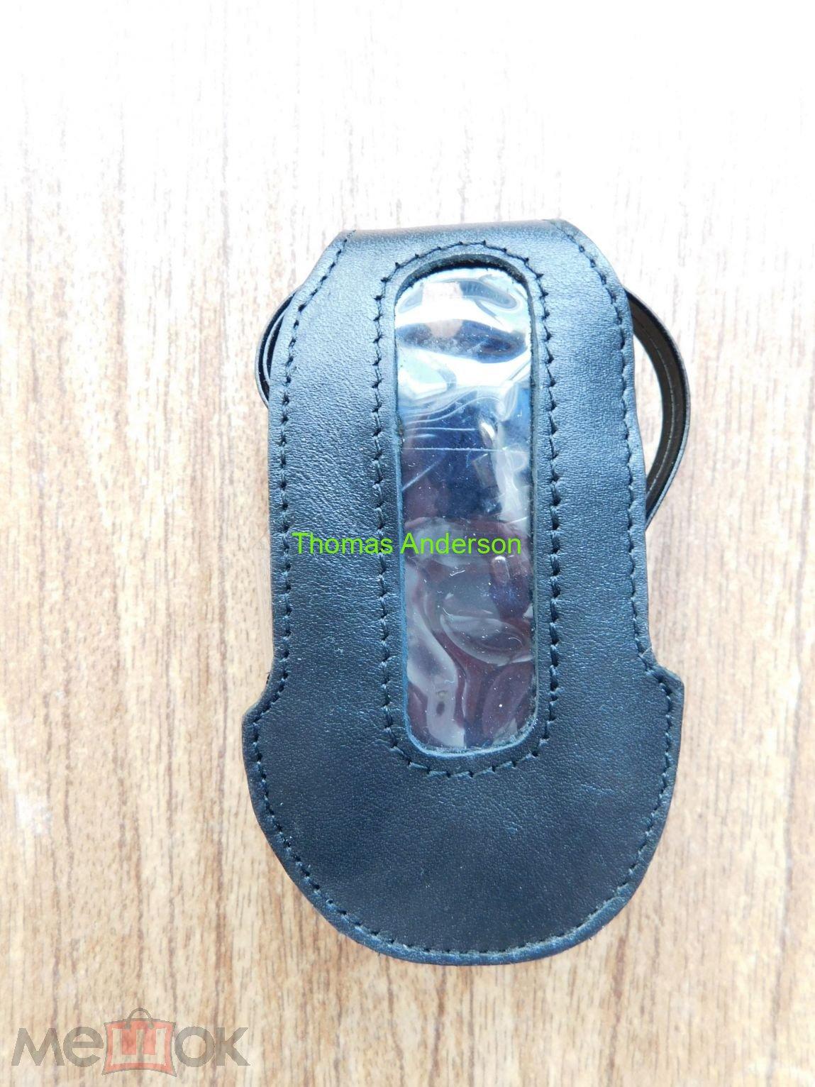 Чехол кожаный Samsung E570