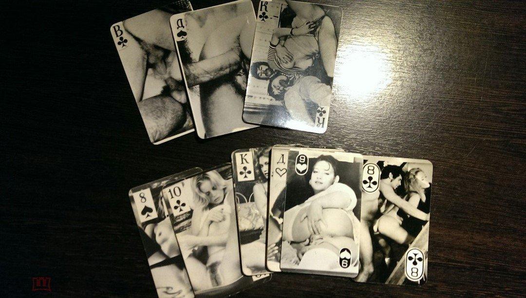 время первой первые игральные карты ню дамы, которым уже