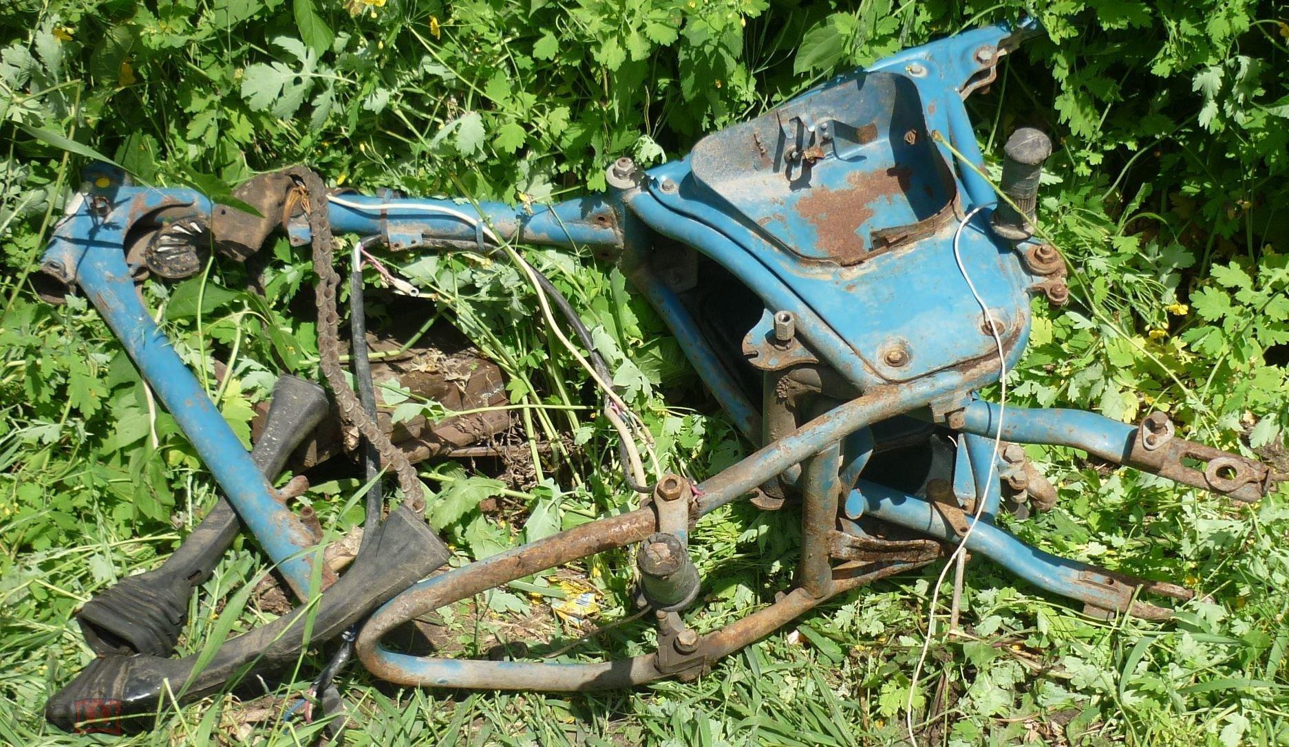 Рама от мотоцикла ИЖ Юпитер 3 СССР