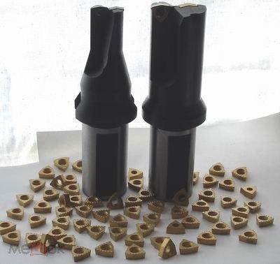 Сверло со сменными твердосплавными пластинами 36 мм