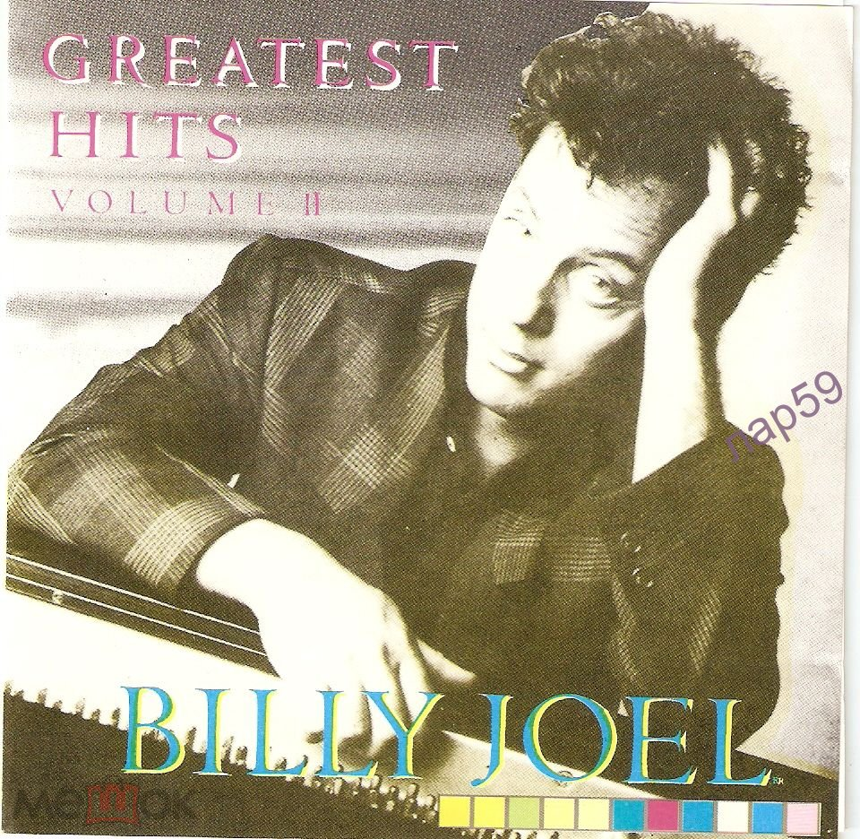 CD  BILLY JOEL - GREATEST HITS vol 2 1985 CD