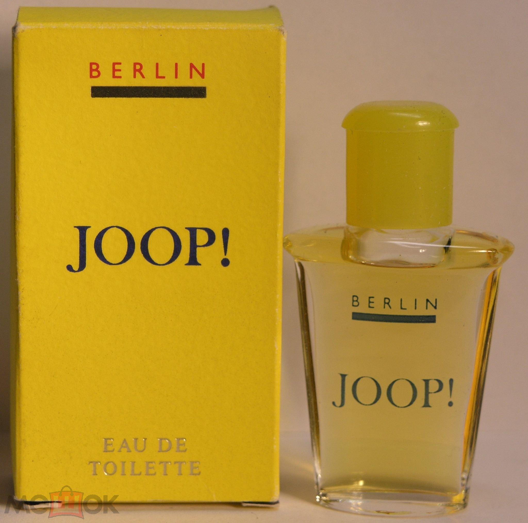 beliebte Geschäfte offizieller Laden Farbbrillanz Joop!, Joop Berlin 5 мл едт винтаж немецкая парфюмерия отличное качество!