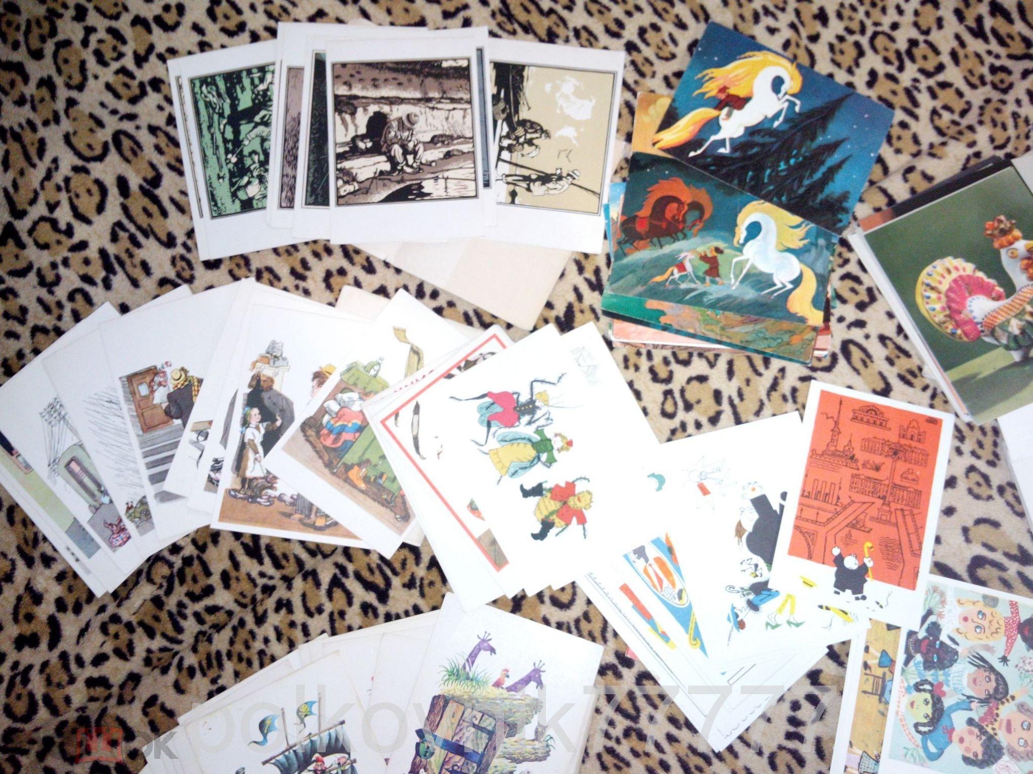 Сделать, коллекции открыток для детей