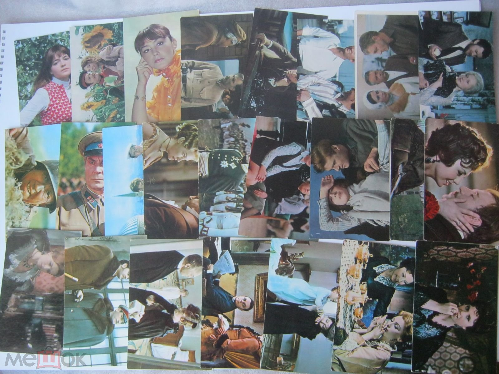 Советские фотографии-открытки артистов, 60-70 гг купить в 72