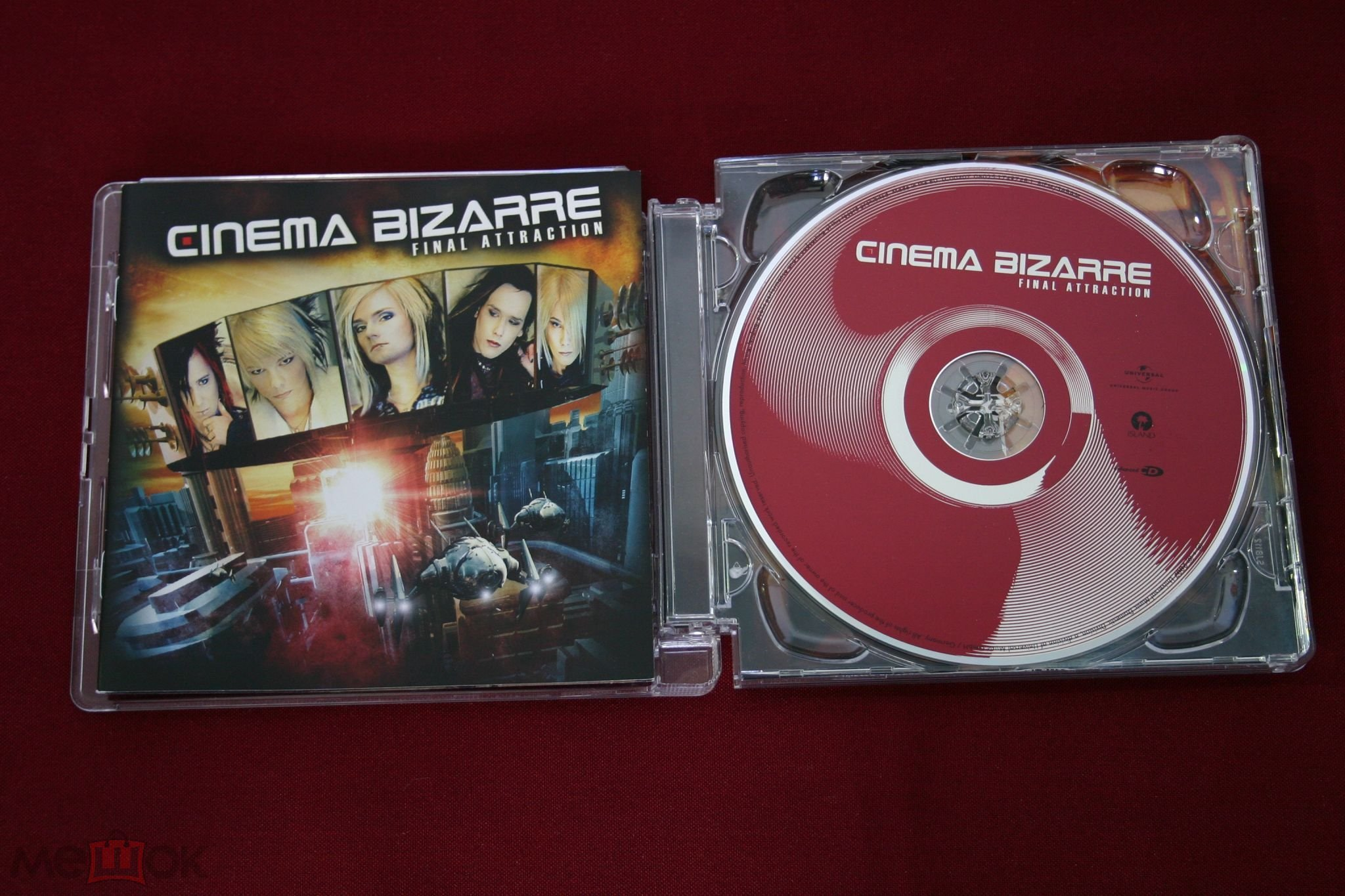 CD Cinema Bizarre ‎– Final Attraction, NM(автограф)/EX+, EU с 1 рубля!!!