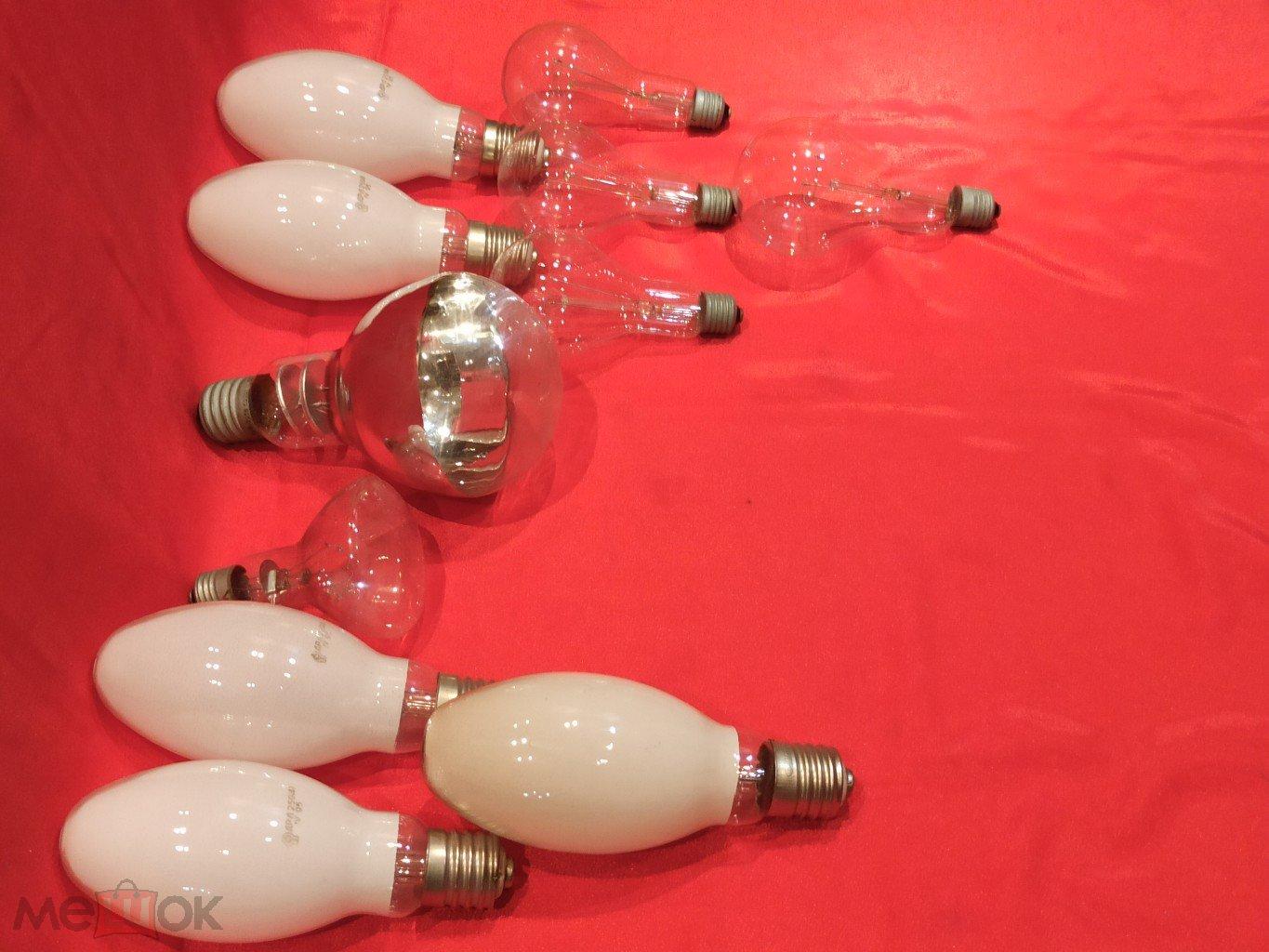 Лампа на 500 Вт. 300 Вт и  прочие всего 6 штук..(Одним лотом)