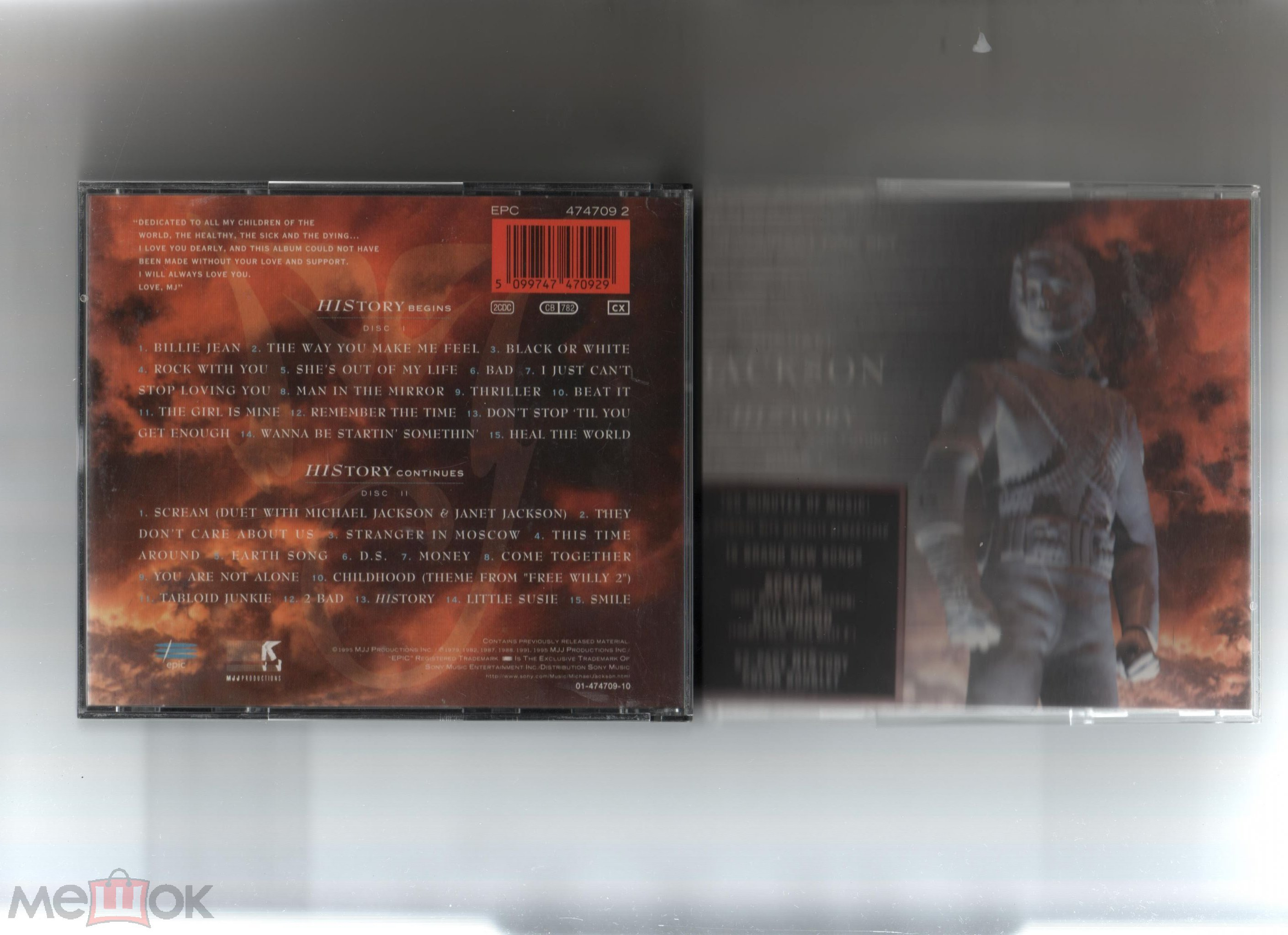 Michael Jackson History Past Present And Future Book 1