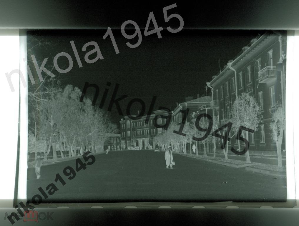 Поти город Грузия 4 негатива 1950-е годы Грузинская ССР Архитектура СССР