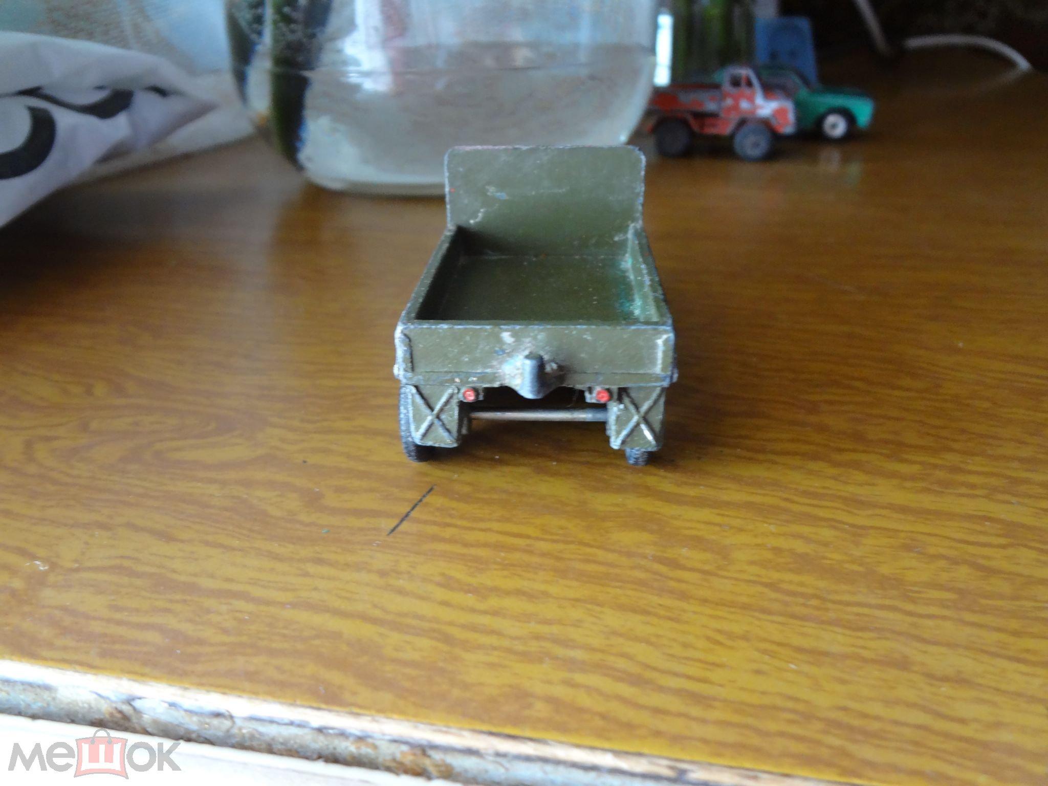 Модель авто  Военная техника Краз .Ретро !