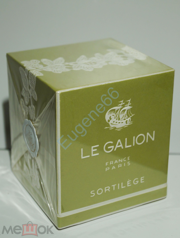 2e69a9da2 LE GALION parfum SORTILEGE, 15 мл. Винтаж, Франция. Запечатаны в слюду!  СКИДКА-НОВЫЙ ГОД!