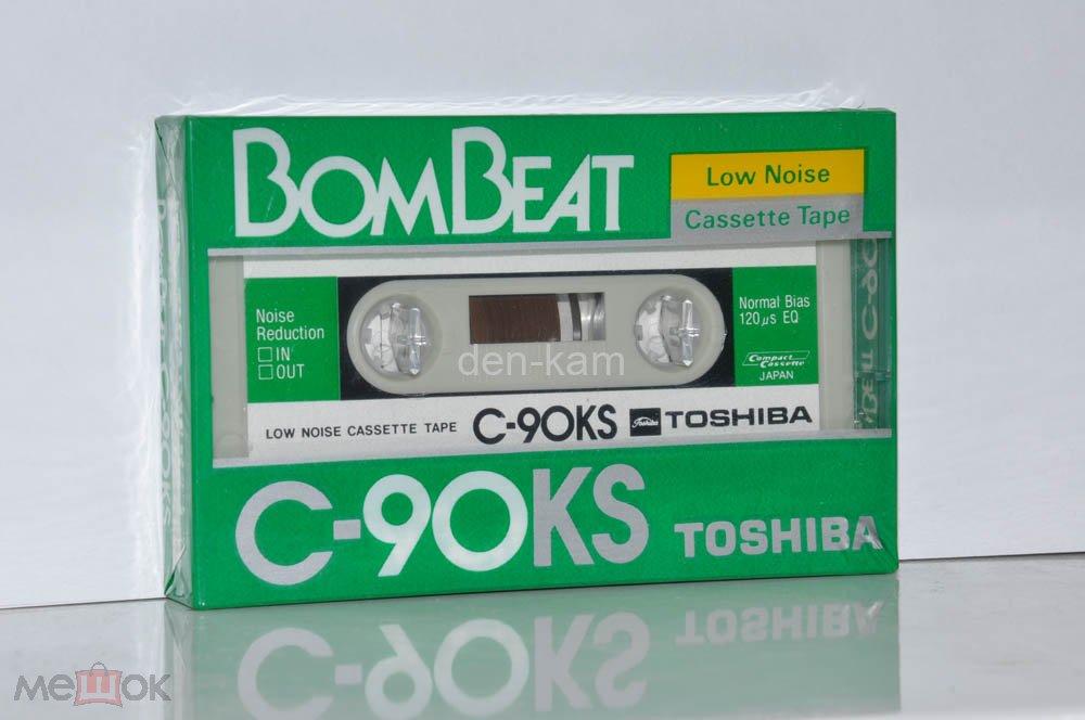 TOSHIBA C-90KS BomBeat 1983 (Type I) JAPAN MARKET  (1764)